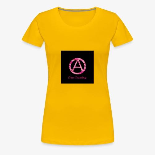 Ora Smokey / pink camo - Women's Premium T-Shirt