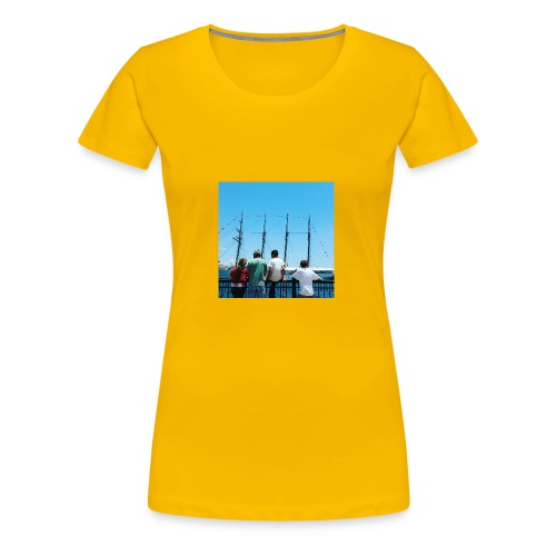 Mi Familia.and Heather - Women's Premium T-Shirt