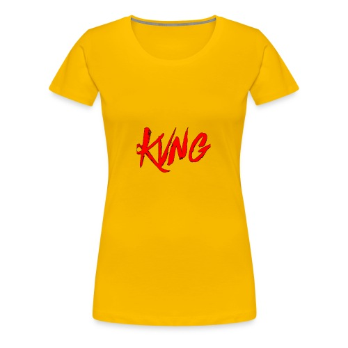 KVNG clothing ENT - Women's Premium T-Shirt