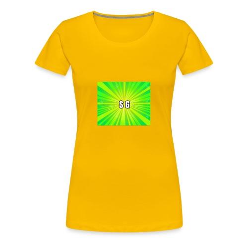 Second Gaming logo theme - Women's Premium T-Shirt
