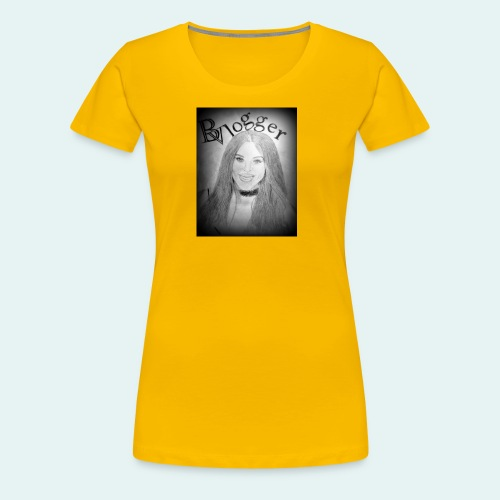 Beauty Vlogger Image Tshirt - Women's Premium T-Shirt