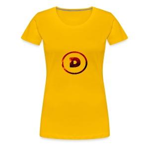 Hoodie with LOGO! - Women's Premium T-Shirt