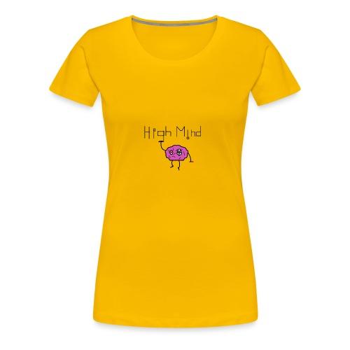 HighMind Brain - Women's Premium T-Shirt