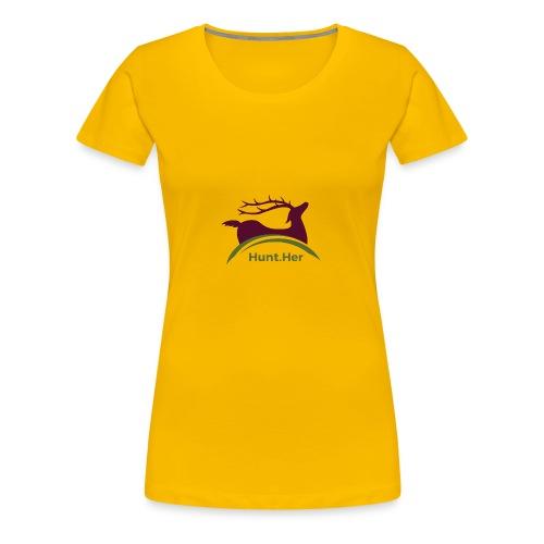 HuntHER Gear - Women's Premium T-Shirt