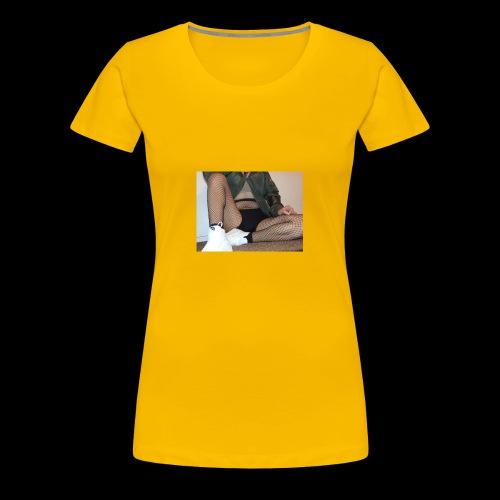 self modeled - Women's Premium T-Shirt