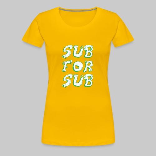 GREEN SLIME - Women's Premium T-Shirt