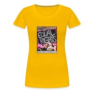 Women's March on Washington 2017-Equal Rights - Women's Premium T-Shirt