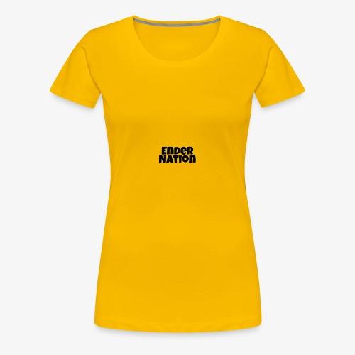 Word logo - Women's Premium T-Shirt