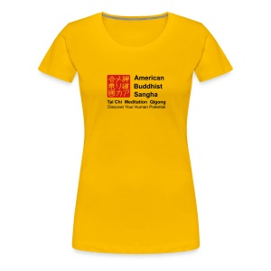American Buddhist Sangha / Zen Do USA - Women's Premium T-Shirt