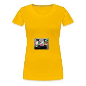 air jordan 6 galaxy customs i really like them - Women's Premium T-Shirt