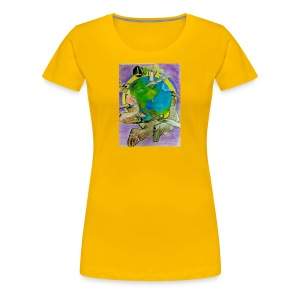 EARTH DAY IS EVERY DAY! Art: Timothy Leistner - Women's Premium T-Shirt