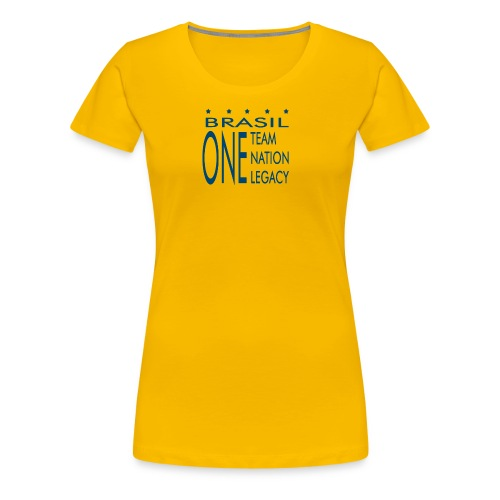 One Team Nation Legacy - Women's Premium T-Shirt