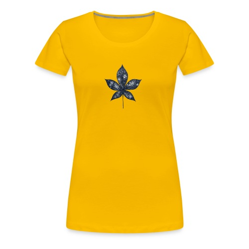 Universe in a Leaf - Women's Premium T-Shirt