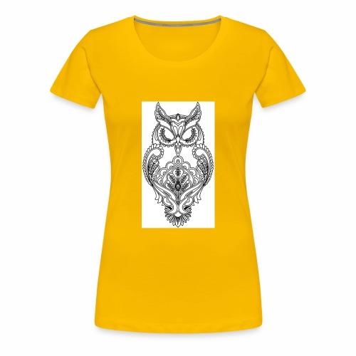 owls look - Women's Premium T-Shirt