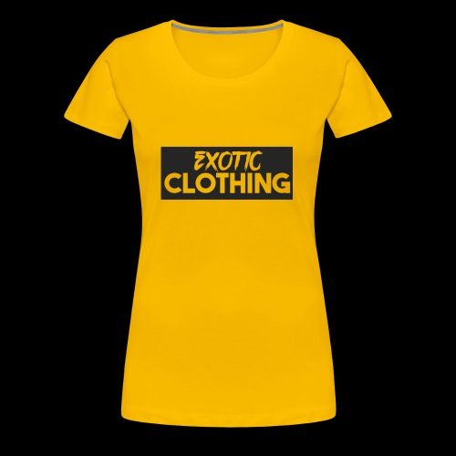 Exotic Logo - Women's Premium T-Shirt
