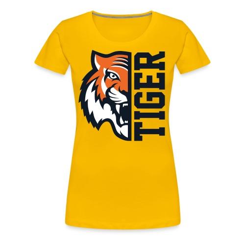 Tiger head - Women's Premium T-Shirt
