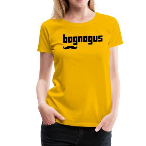 bognogus in black - Women's Premium T-Shirt