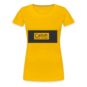 Callum's Custom Merch!!!!! - Women's Premium T-Shirt