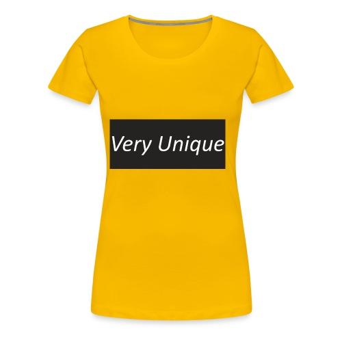 Very Unique - Women's Premium T-Shirt