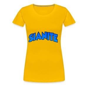 SIANITE SHIRT LOGO - Women's Premium T-Shirt