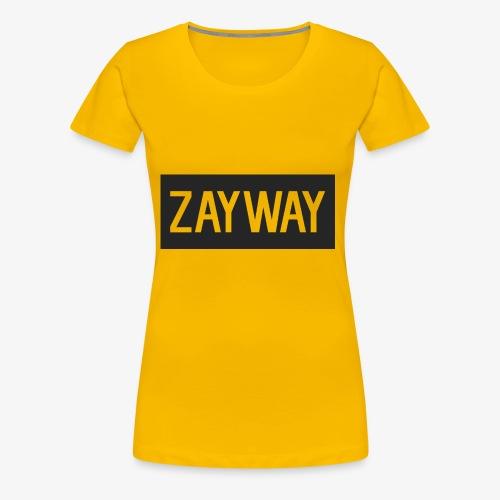 zayway - Women's Premium T-Shirt