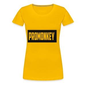 ProMonkey Logo - Women's Premium T-Shirt