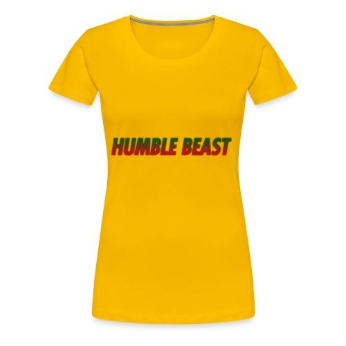 HUMBLE BEAST - Women's Premium T-Shirt