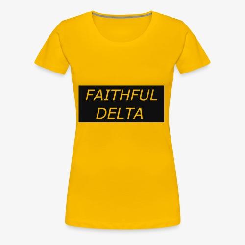 Faithful - Women's Premium T-Shirt