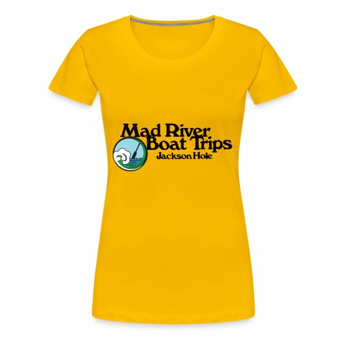 Mad River Boat Trips Logo Wear - Women's Premium T-Shirt
