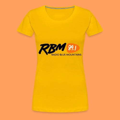 RBM Logo - Orange - Women's Premium T-Shirt