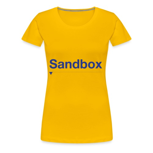 sandbox merch - Women's Premium T-Shirt