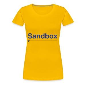 sandbox merch - Women's Premium T-Shirt