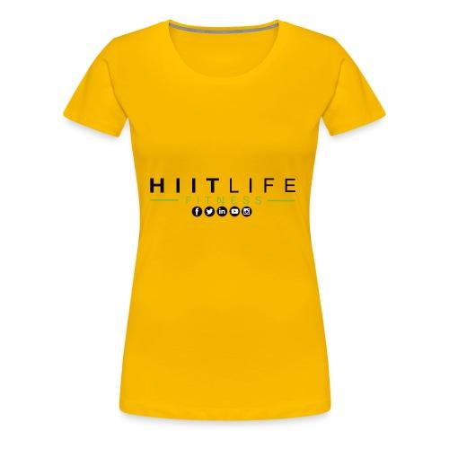 HLFLogosocial - Women's Premium T-Shirt