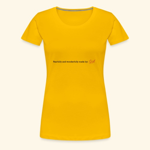 Made By God - Women's Premium T-Shirt