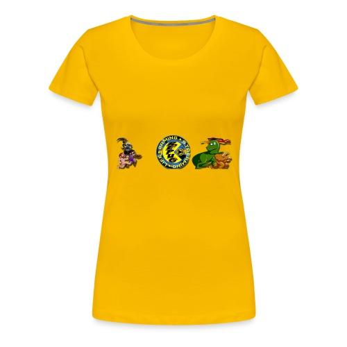 Pug Pac Attack! - Women's Premium T-Shirt