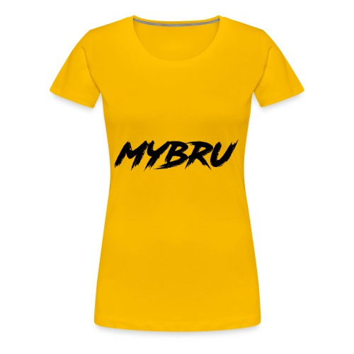 my bru - Women's Premium T-Shirt