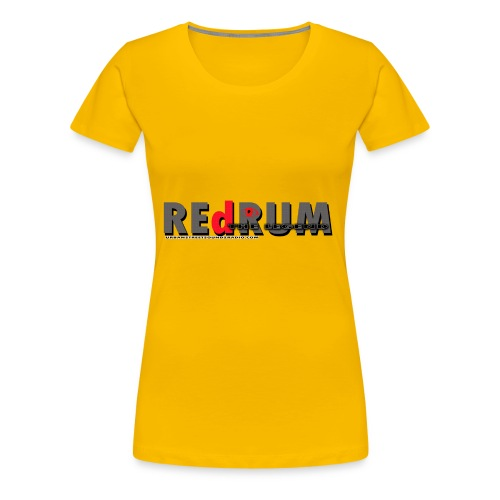 redrum LEGEND t shirt logo 1 - Women's Premium T-Shirt