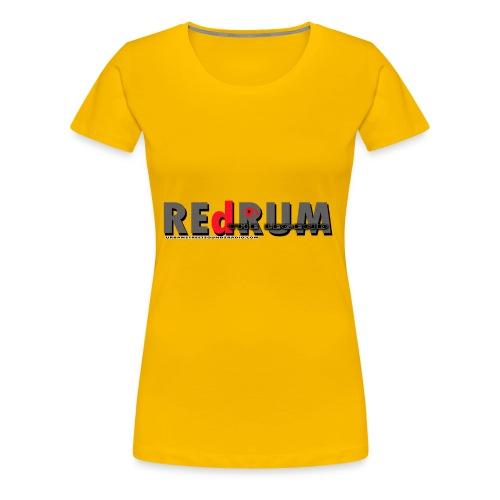 redrum LEGEND t shirt logo 1 - Women's Premium T-Shirt