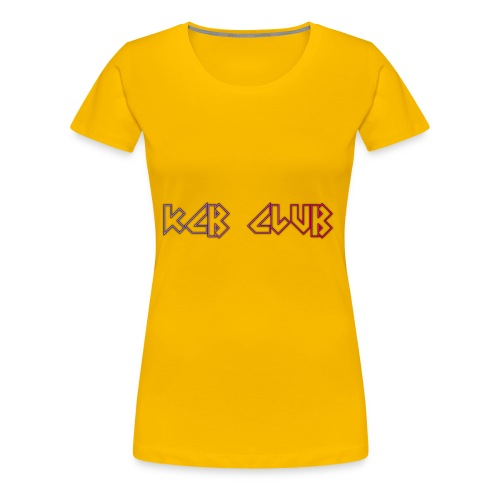 KCB CLUB - Women's Premium T-Shirt
