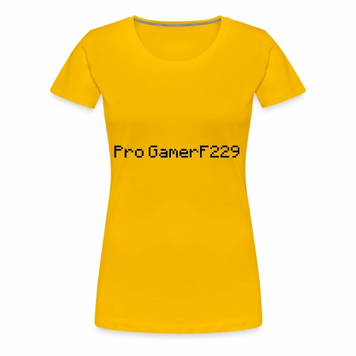 Pro GamerF229 (MC) - Women's Premium T-Shirt