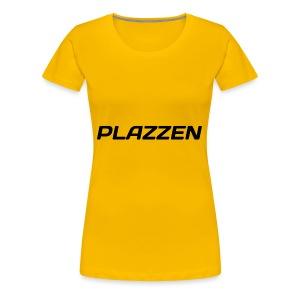 Plazzen Logo - Women's Premium T-Shirt