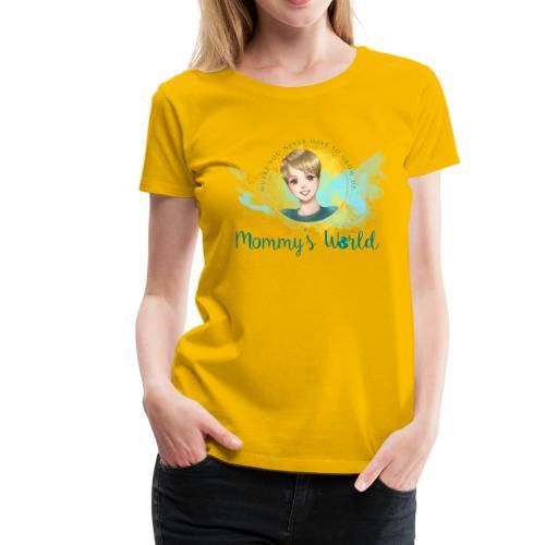 Mommys World Alternate Logo - Women's Premium T-Shirt