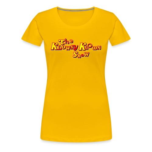 The Klowny Klown Show Logo - Women's Premium T-Shirt