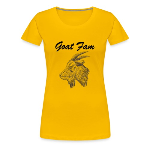 Goat Fam - Women's Premium T-Shirt