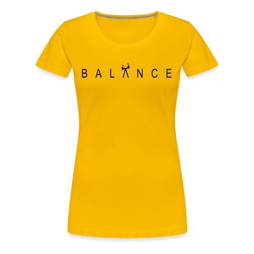 Maxson World Balance - Women's Premium T-Shirt