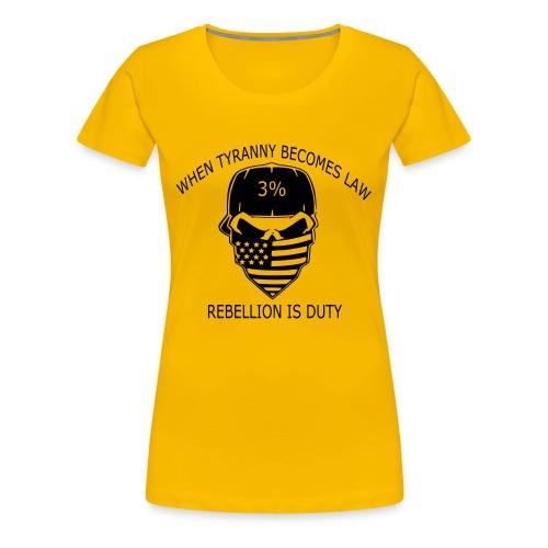 rebellion time - Women's Premium T-Shirt