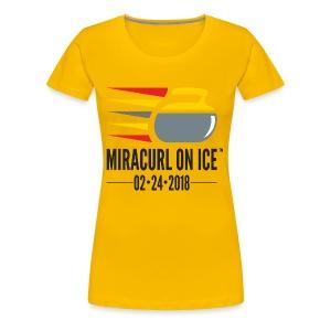 Miracurl On Ice Celebration! - Women's Premium T-Shirt