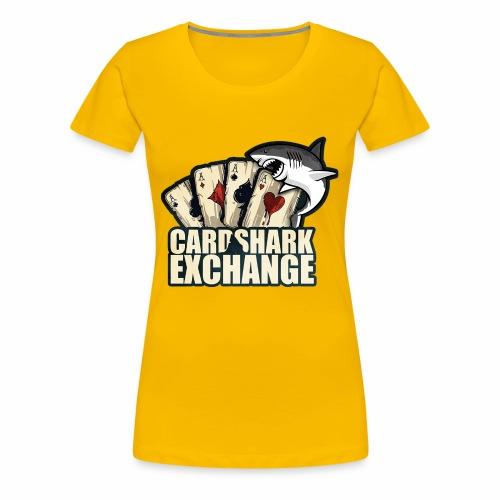 Card Shark 1 - Women's Premium T-Shirt