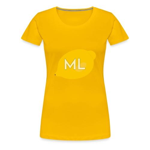 Mad Lemons Logo - Women's Premium T-Shirt