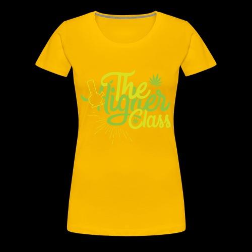 the higher class 2 - Women's Premium T-Shirt